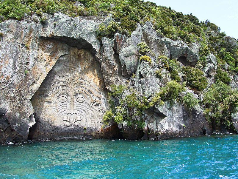 Qué hacer en Taupo: tallas maoríes