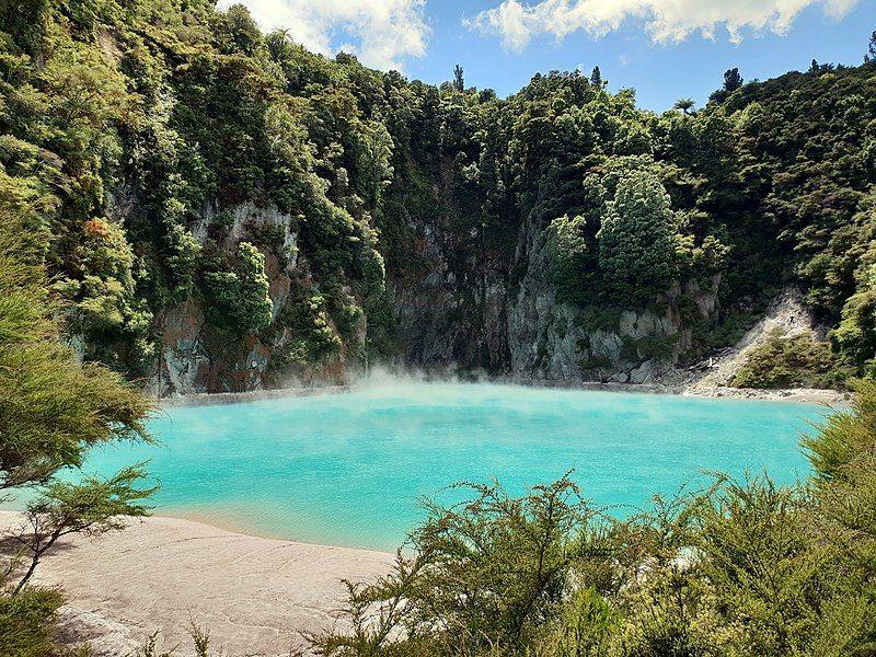 Etapa 18 por NZ entre Taupo y Rotorua: Waimangu Volcanic Valley - qué hacer en Rotorua