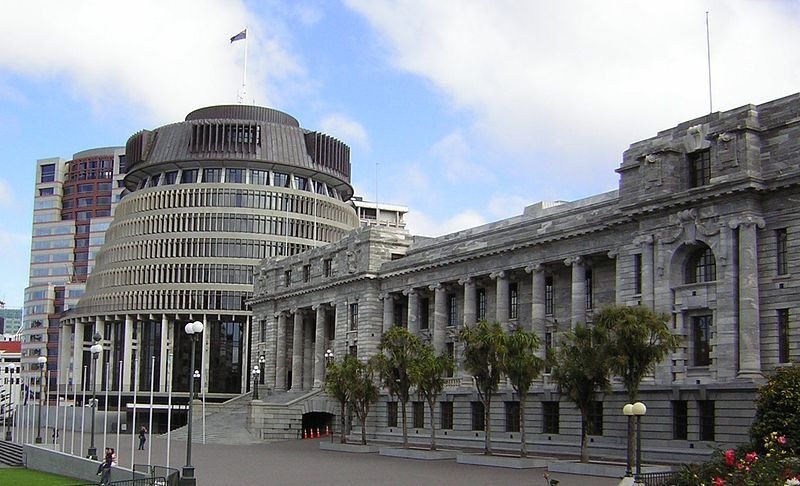 Qué ver en Wellington: Parlamento de Nueva Zelanda