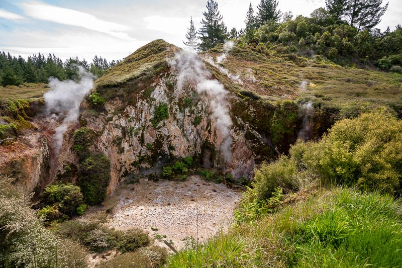 Qué hacer en Taupo: Craters of the Moon