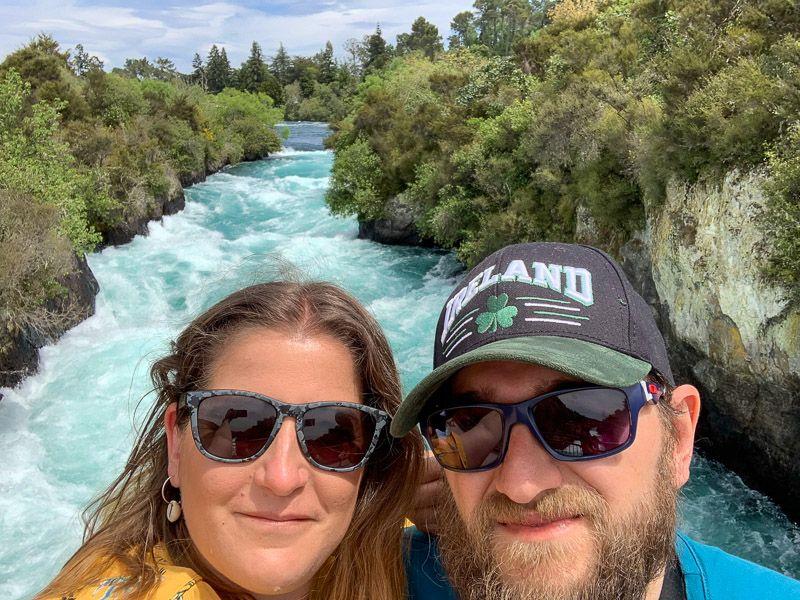 Qué hacer en Taupo: Huka Falls