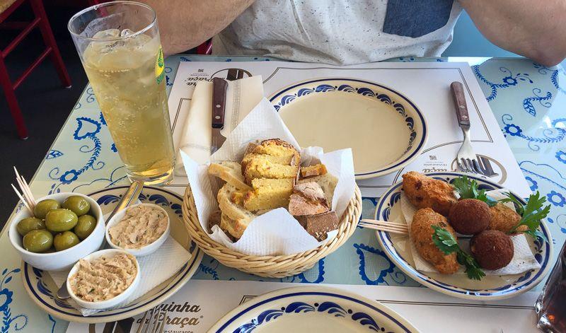 Guía de Portugal: ¡cuidado con los aperitivos!