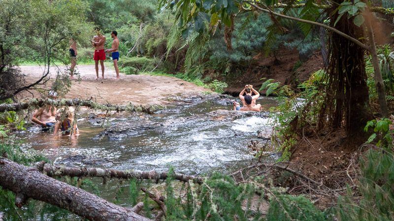 Etapa 18 por NZ entre Taupo y Rotorua: Kerosene Creek