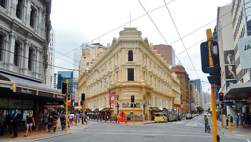 Qué ver en Wellington: Old Bank Arcade
