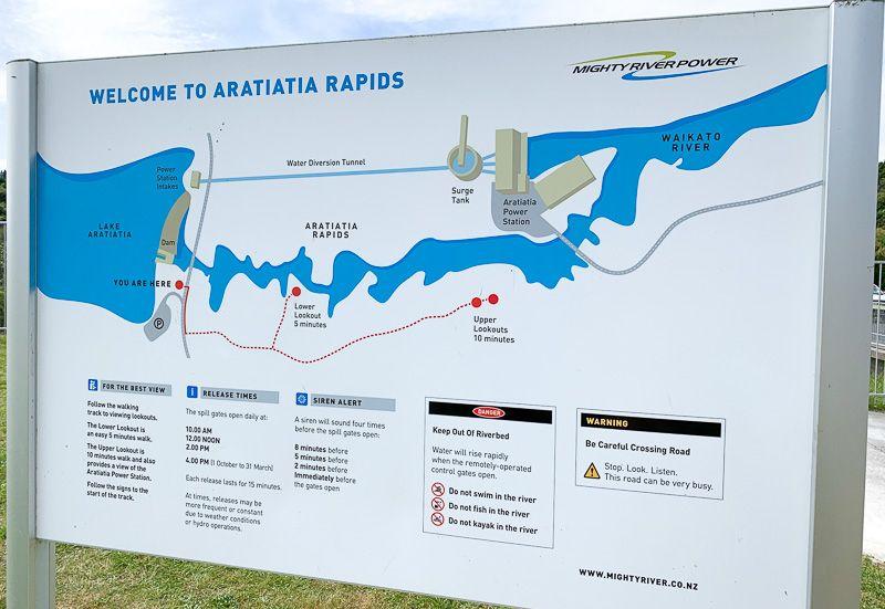 Qué hacer en Taupo: Aratiatia Dam