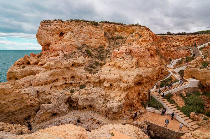 Qué ver en el Algarve: Algar Seco