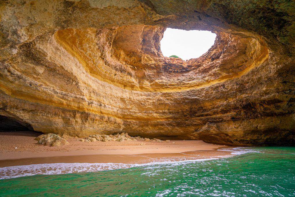 Qué ver en el Algarve: Cueva de Benagil - Las mejores playas del Algarve: Cueva de Benagil - que ver en portimao