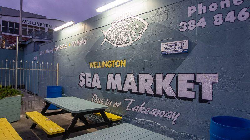 Dónde comer en Wellington