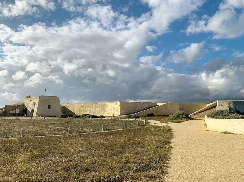 Guía del Algarve: Fortaleza de Sagres