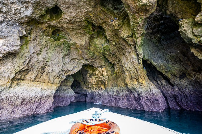 Guía del Algarve: paseo en barco por Ponta da Piedade