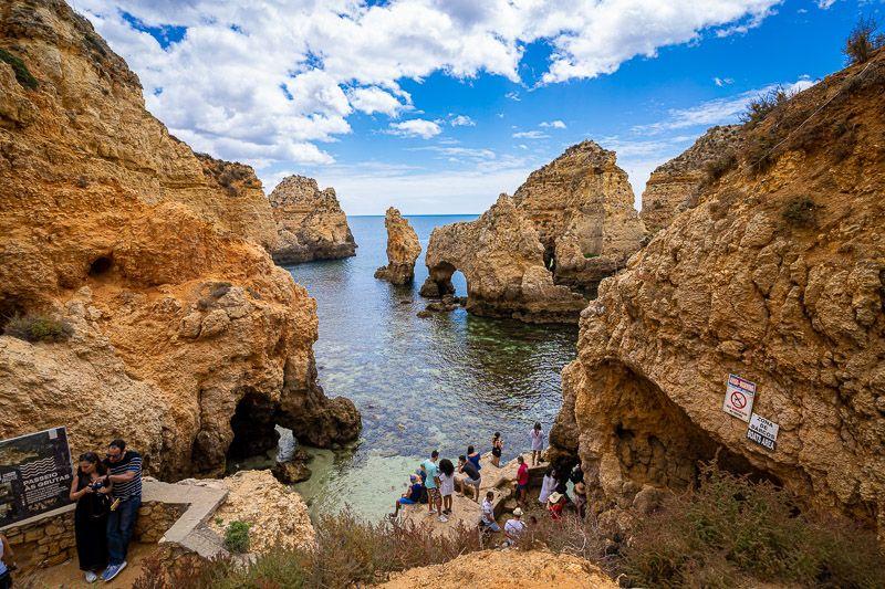 Qué ver en el Algarve: Ponta da Piedade