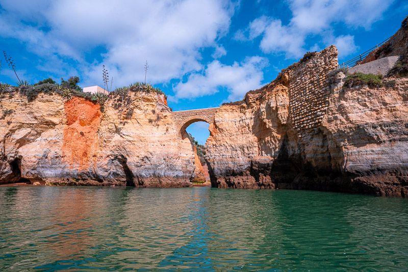 Qué ver en el Algarve: Praia dos Estudantes