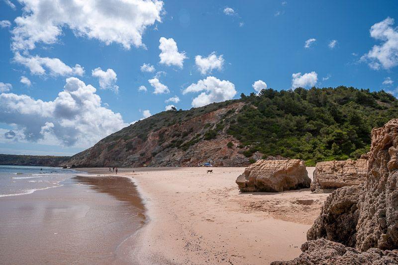 Qué ver en el Algarve: Praia da Filgueira