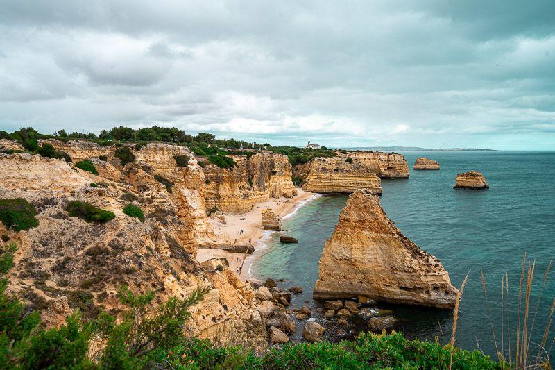 Qué ver en el Algarve: Praia da Marinha