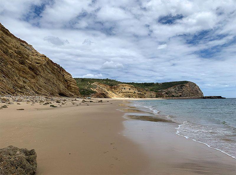 Qué ver en el Algarve: Praia das Cabanas Velhas