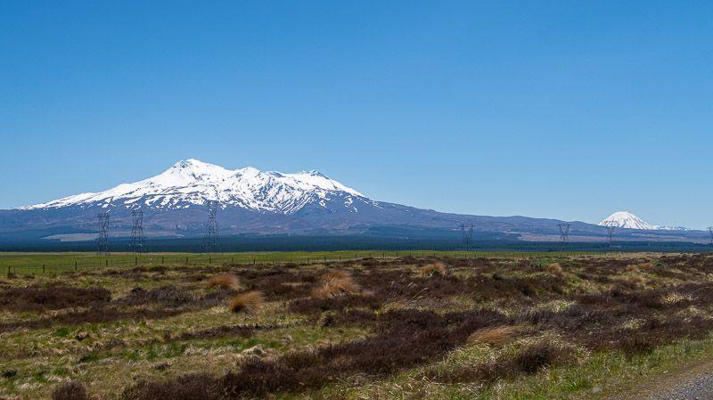 Etapa 16 por NZ camino del Tongariro: Desierto de Rangipo