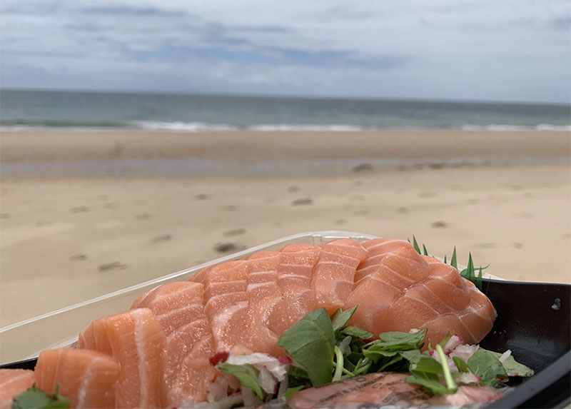 Dónde comer en el Algarve: picnic en la playa