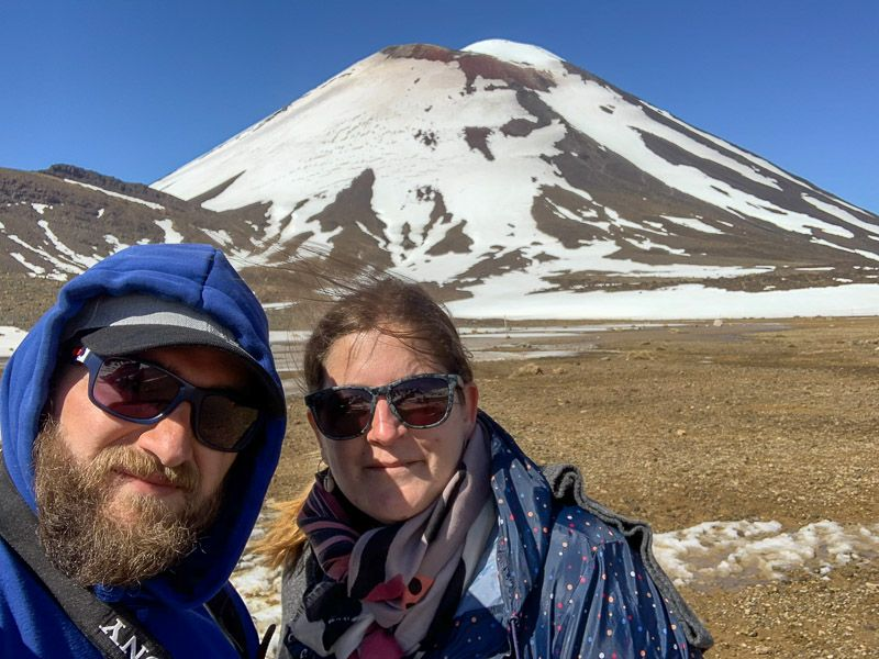 Tongariro Alpine Crossing: monte Ngauruhoe