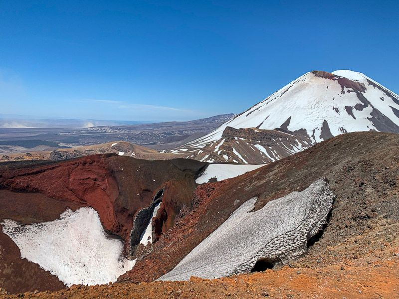 Tongariro Alpine Crossing: Red Crater
