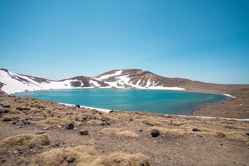 Tongariro Alpine Crossing: Blue Lake