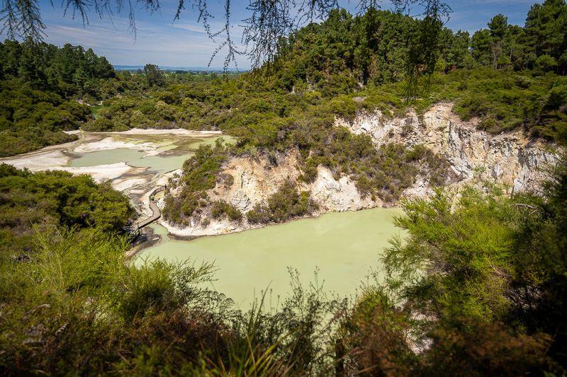 Visitar Wai-O-Tapu: el poder del color