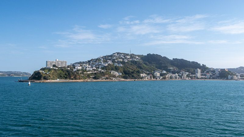 Qué ver en Wellington: Wellington desde el ferry