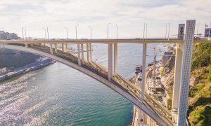 Porto Bridge Climb o cómo 'escalar' el puente de Arrábida en Oporto