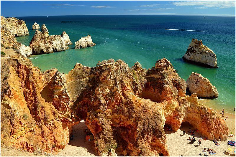 Las mejores playas del Algarve: Praia dos Tres Irmaos