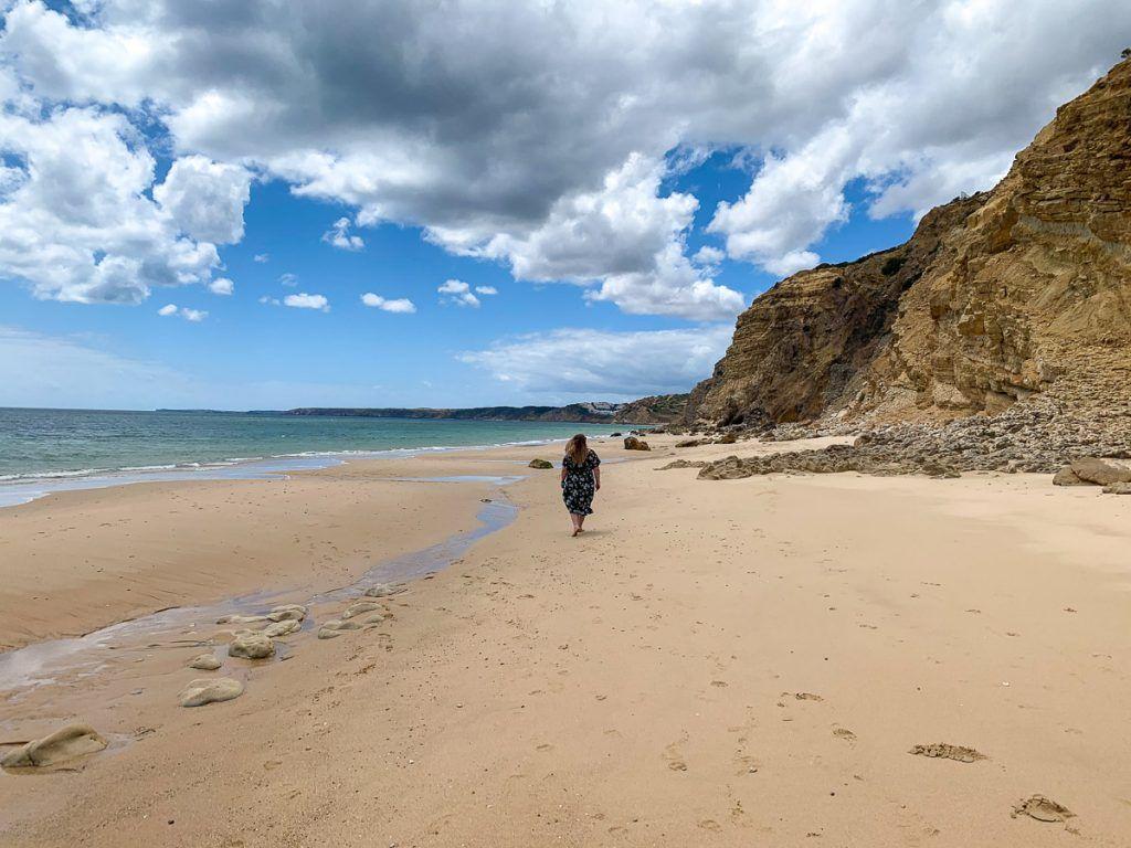 Las mejores playas del Algarve: Praia das Cabanas Velhas - imprescindibles del algarve
