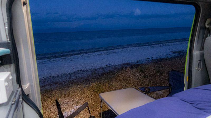 Etapa 20 por NZ en la península de Coromandel: Ray's Rest Camping Reserve