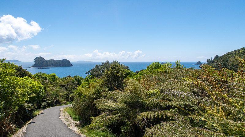 Etapa 20 por NZ en la península de Coromandel: Cathedral Cove Trail