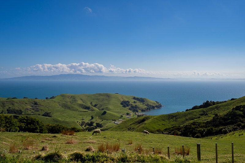 Etapa 20 por NZ en la península de Coromandel: paisajes de Coromandel