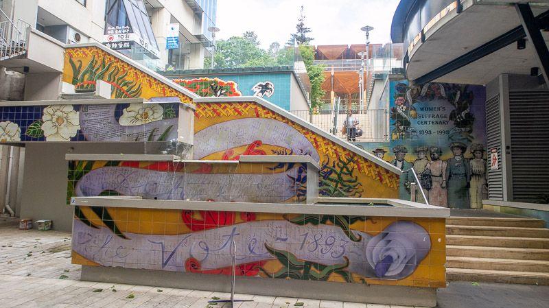Qué hacer en Auckland: admirar los murales de Khartoum Place
