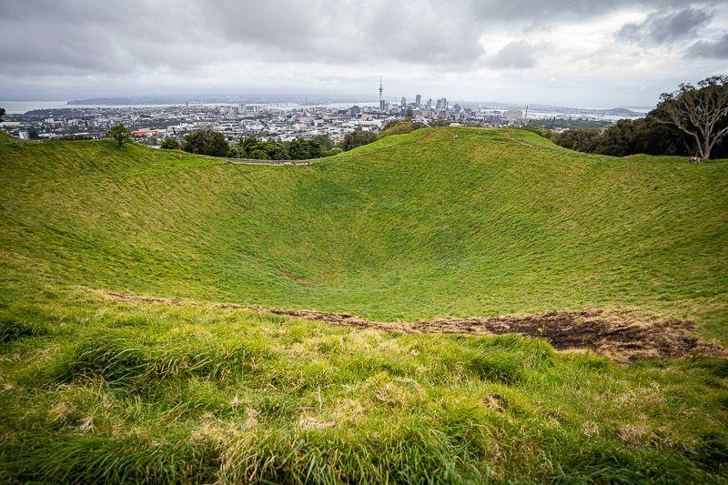 Qué hacer en Auckland: subir al Monte Eden