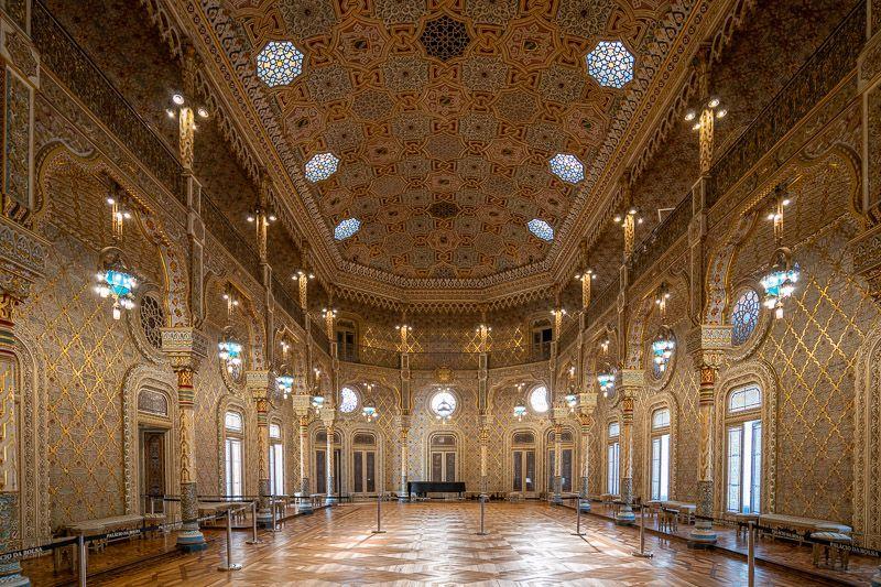 Visitar el Palacio de la Bolsa en Oporto: sala árabe - Qué ver en Oporto: Palacio da Bolsa - Porto Card, ¿qué incluye? ¿merece realmente la pena?