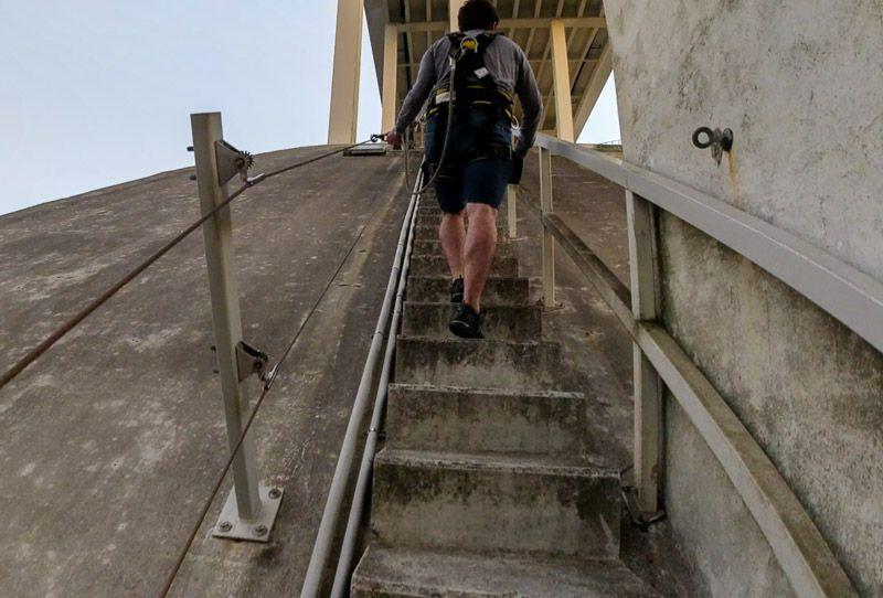Porto Bridge Climb: así es la subida