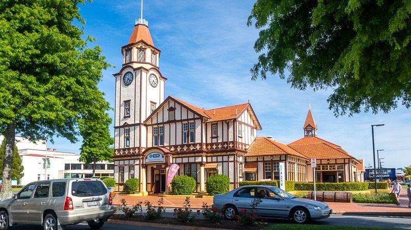 Qué hacer en Rotorua: dar una vuelta por el Rotorua Visitor Center