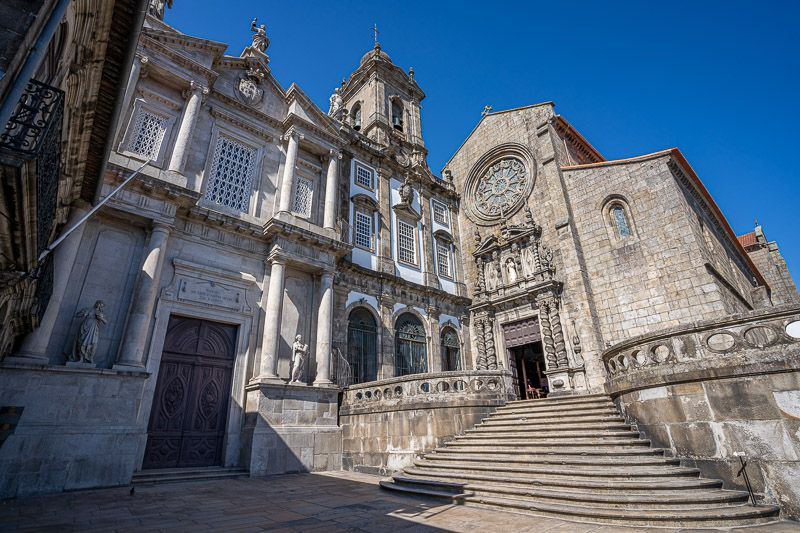 Visitar la iglesia de San Francisco en Oporto: por fuera parece una iglesia más