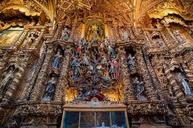 Visitar la iglesia de San Francisco en Oporto: el Árbol de Jesé