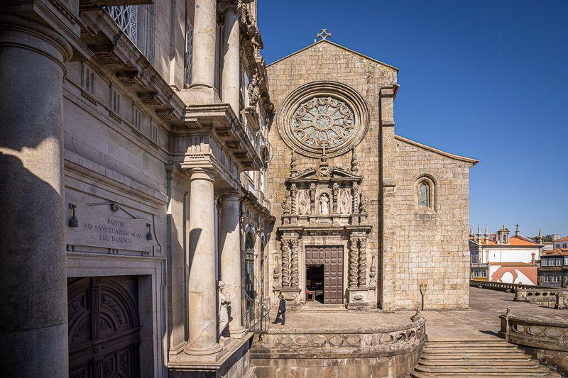 Visitar la iglesia de San Francisco en Oporto: la entrada