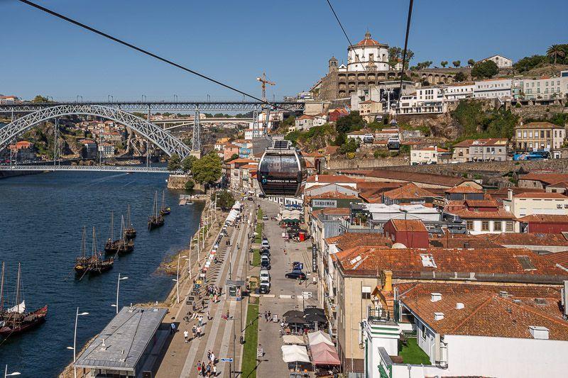 Teleférico de Gaia en Oporto: ¿merece la pena? - cómo moverse por Oporto - barrios de oporto