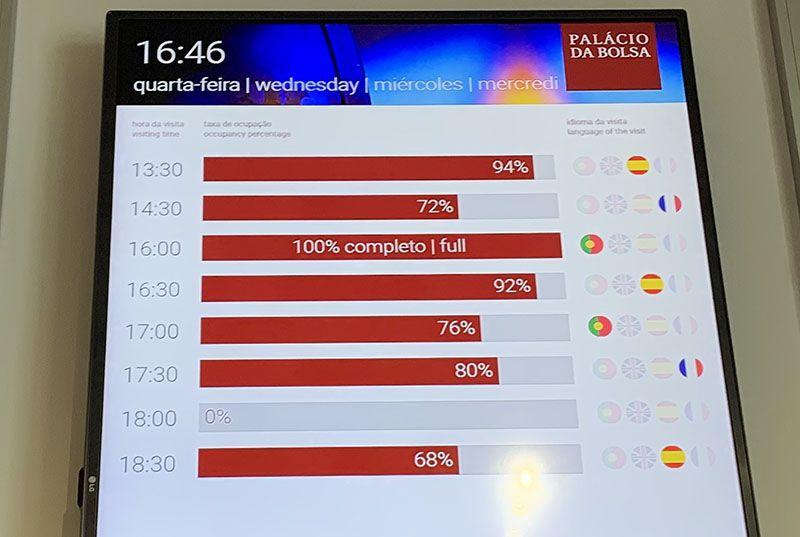 Visitar el Palacio de la Bolsa en Oporto: horarios e idiomas de la visita guiada