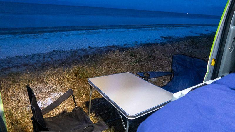 Alquilar una camper en Nueva Zelanda: alojamiento con vistas