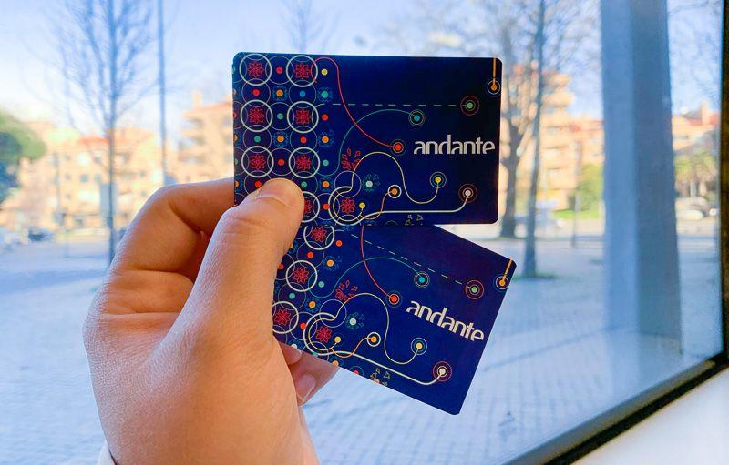 Cómo moverse por Oporto: tarjeta Andante