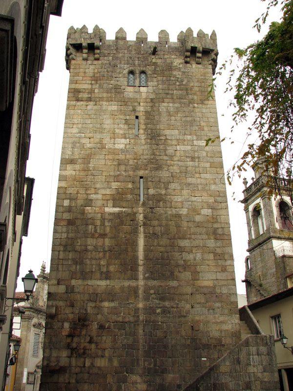 Qué ver en Braga: Torre de Menagem
