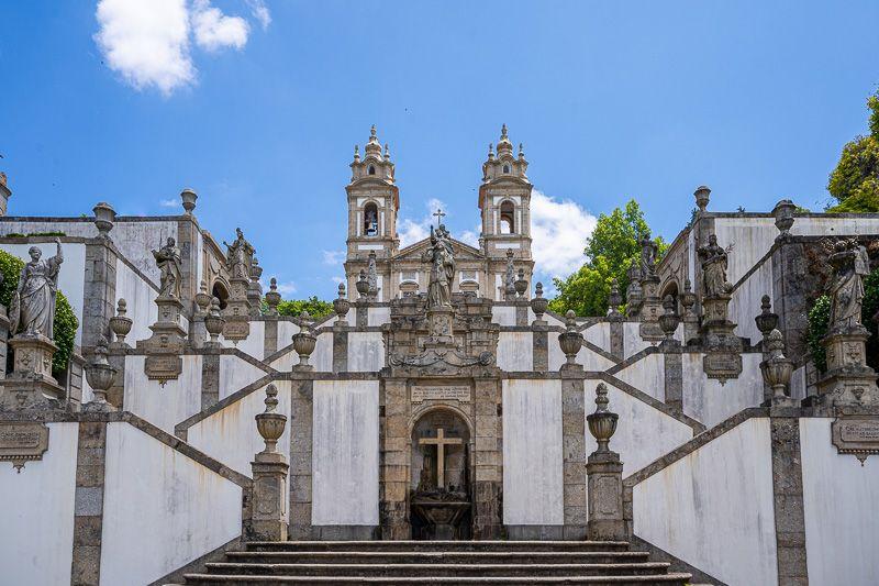 Qué ver en Braga: Bom Jesus do Monte - Las 10 ciudades más importantes de Portugal