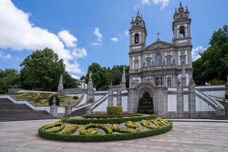 Qué ver en Braga: Bom Jesus do Monte - consejos para viajar a portugal