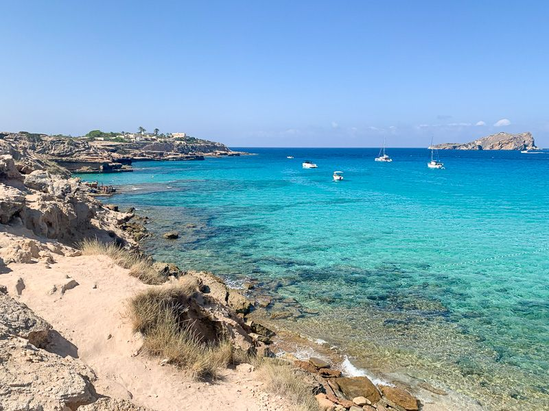 Qué ver en Ibiza: platges del Comte
