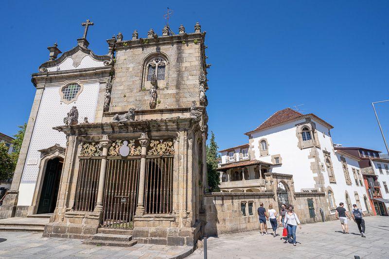Qué ver en Braga: Casa e Capela dos Coimbras