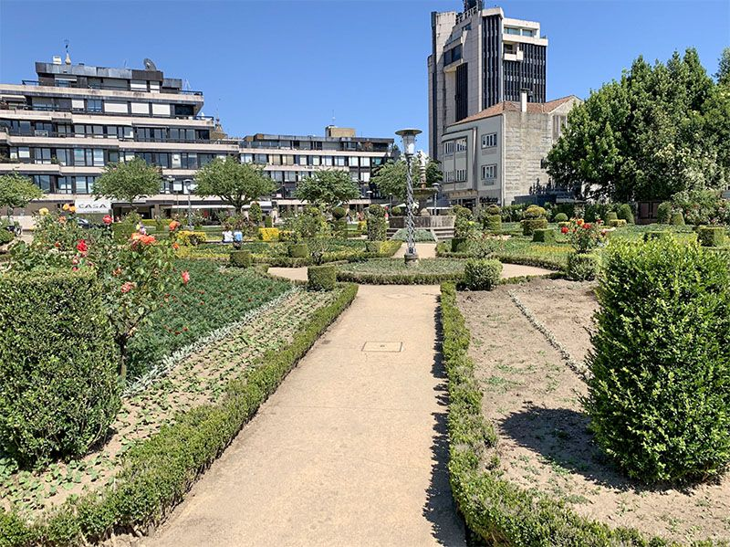 Qué ver en Braga: Jardim de Santa Bárbara